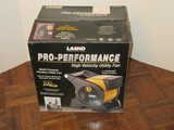 Lasko Pro-Performance High Velocity Utility Fan w/ Integrated Power Outlets