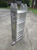 Werner Model-M2-8-16 Job Master Aluminum Multi-Position Ladder