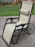 Alpine Design Zero Gravity Folding Patio Lawn Chair Fabric Laced to Sturdy Steel Frame