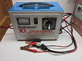 Sportsman Schauer 10AMP Deep Cycle Battery Charger