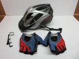 Specialized Telluride Bicycle Bike Helmet Size Medium, Small Side Mirror