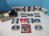 Rare Find Sawyers View Master Stereoscope Reel Viewer w/ 14 Plus Reels