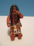 Highly Detailed Native American Storyteller 2 1/4
