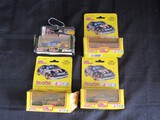 4 Racing Champions Stock Car 1:64 Scale Replica Die Cast Cards