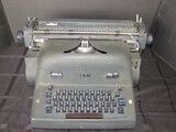 Black Metal Vintage IBM Typewriter Electronic Model 11C