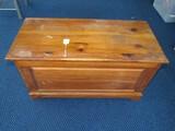 Vintage Wooden Panel Design Bed Chest