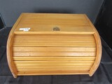 House of York Wooden Bread Box