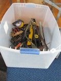 Misc. Tools Lot - Craftsman Sears Drill, Level Finder, Saw, Hammer, Axe, Etc.