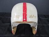 Hutch Lou Grogu 645 Vintage White/Red Football Helmet