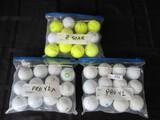 Golf Balls Lot - Titleist Pro V1, Pro V1X, Srixon Z-Star,