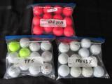 Golf Balls Lot - Titleist Pro V1X, Taylormade TP5, -Various Red