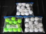 Golf Balls Lot - Bridgestone Tour B330, Vice Pro, Various Green