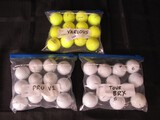 Golf Balls Lot - Titleist Pro V1, Bridgestone  Tour BRX, Various Yellow