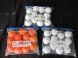 Golf Balls Lot - Titlest Pro V1X, Taylormade TP5, Various Orange