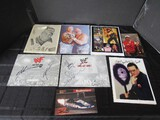 Lot - Signed Minnie Minoso Print, Signed Drag Race, WWF Attitude Signed Picture