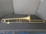 Vintage Bundy Brass H&A Selmar Trumpet 28700 on Side