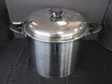 Waterless Pressure Control Cookware Cooking Pot w/ Handles