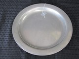 Vintage Large C.S.Co. Pewter P1420D Platter Plate