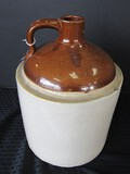 Vintage Stoneware Pottery Glazed Jug