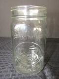 12 Wide Mouth Quart Canning Jars Kerr, Golden Harvest, Etc.