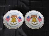 St. Regis Fine China Japan 102 Pair Bicentennial 1776-1976 Plates