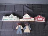 Wooden Lot - R.R. Creations © 1999 Buildings Décor, Boy/Girl Décor