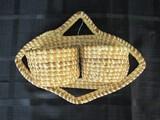 Sweetgrass Baskets Wall Mounted Twin Baskets