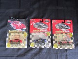 3 Nascar Die Cast Toy Cars Tracy Leslie, Curtis Markham, Jason Heller