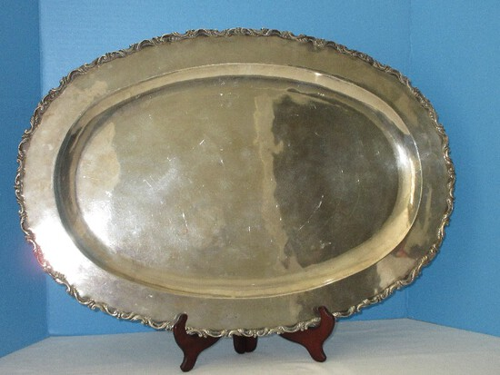 Incredible Find Sanborns Mexico Sterling Silver Large Oval Platter