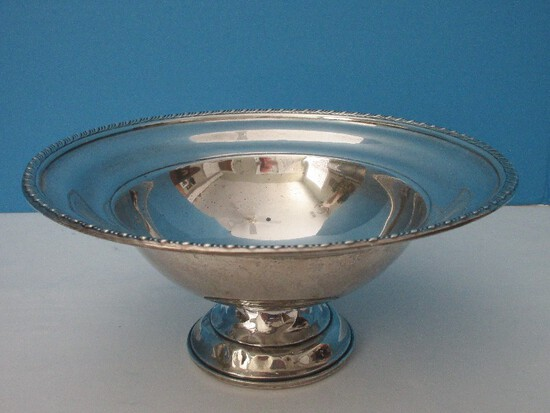 Preisner Sterling Silver Compote Footed Bowl #77 Weighted Base