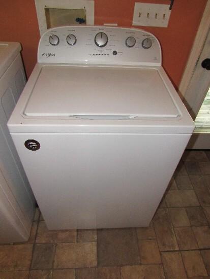Whirlpool High Efficiency Top Loading Washing Machine