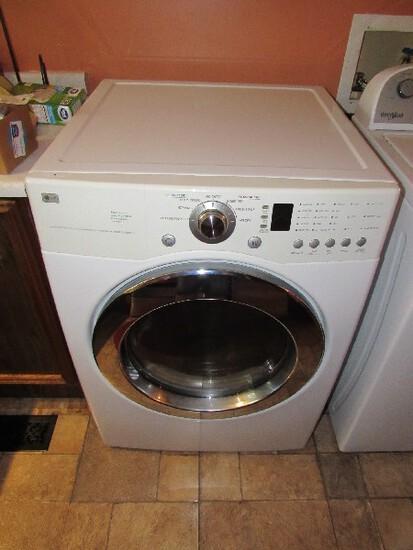 L.G. Dryer White Metal Super Capacity Sense Dry System, Quiet Operation