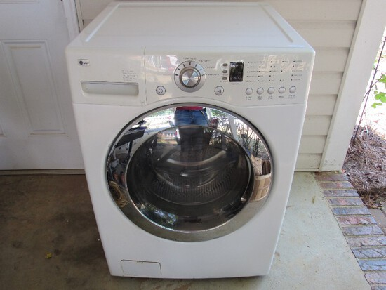 L.G. Washer White Metal Super Capacity, Quiet Operation