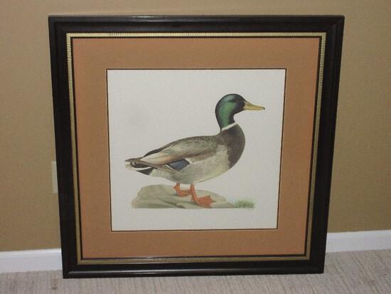 Old Colony Furniture Ducks II Series Male Mallard Duck Anas Platyrhynchos