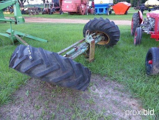 John Deere combine mud hog axle | Farm Machinery