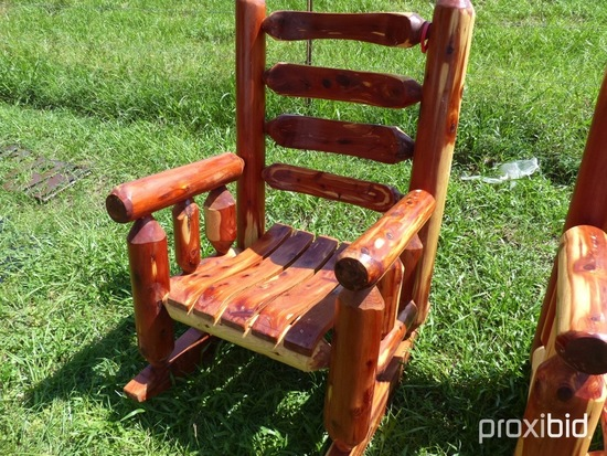 Cedar Rocking Chair & Cedar Rocking Chair   ... Auctions Online   Proxibid