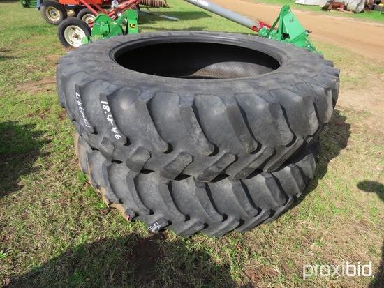 (2) Firestone 18.4-46 tires