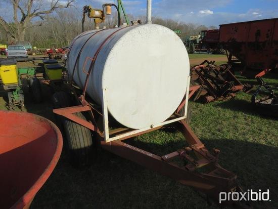500 gallon portable fuel tank w/ pump