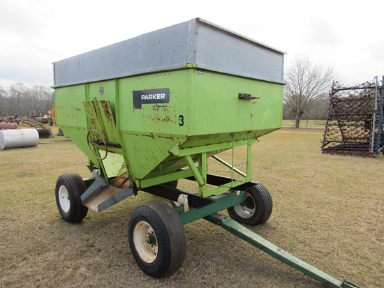 Parker 2200 gravity wagon w/ P&H gear