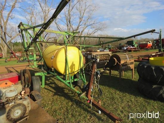 300 gallon pull type sprayer w/ pump