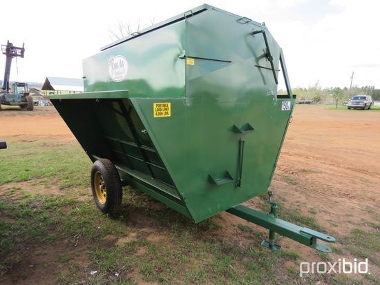 KingAg 150 bu portable livestock feeder (unused)