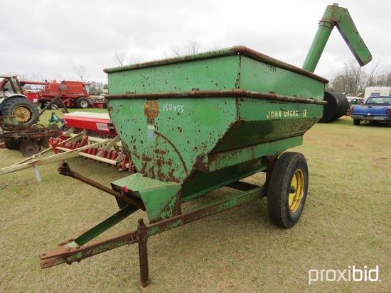John Deere #68 feed auger cart w/ shaft