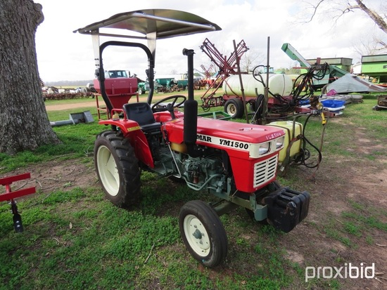 Yanmar YM1500 tractor