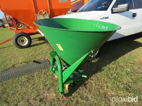 Agrex 500 3pt seeder w/ shaft