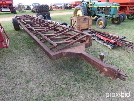 Hay Express 5 bale dump wagon