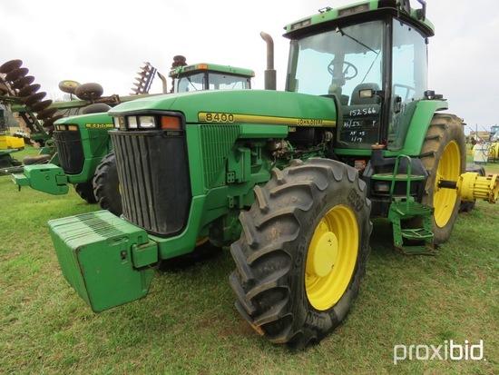 John Deere 8400 tractor (AS/IS)