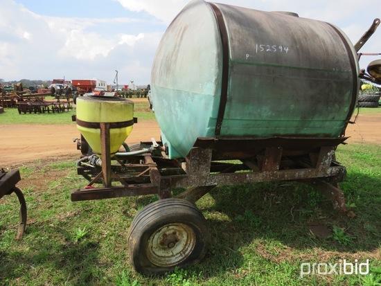 1000 gallon portable nurse tank w/ pump