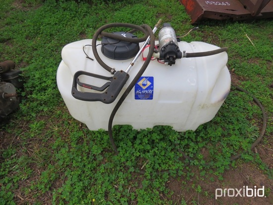 25 gallon sprayer w/ pump & wand