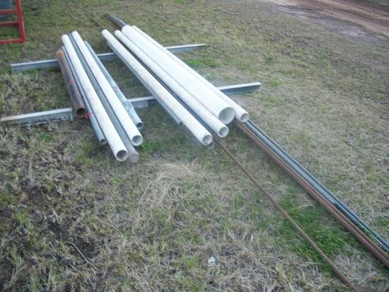 Pile of misc pipe & tubing