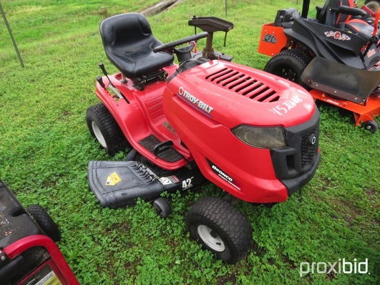 TroyBilt Bronco riding mower